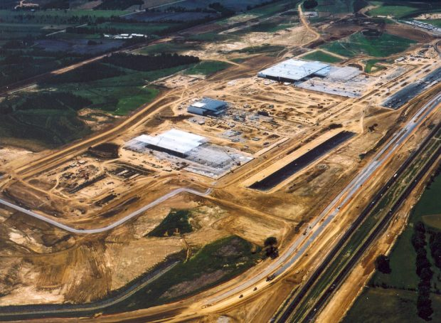 Nissan Assembly Plant Sitework Phases I & II