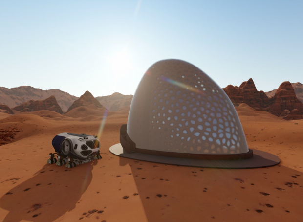Yates Construction and Design Partner Named One of the 10 Finalist in the Virtual Model Stage of NASA's 3D-Printed Habitat Challenge
