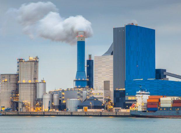 Coal powered power plant