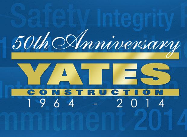 Yates 50th Anniversary Logo