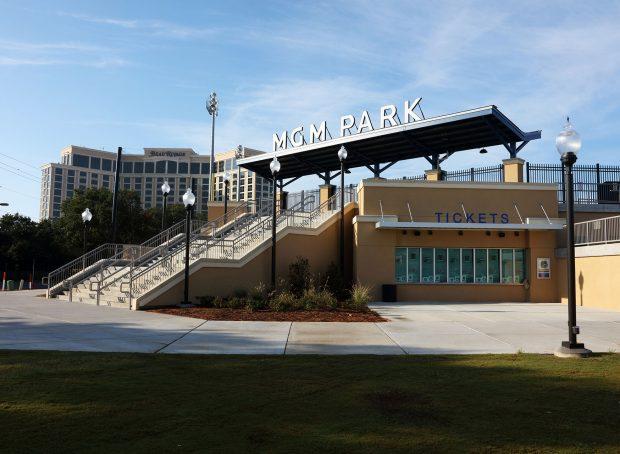 MGM Park Baseball Stadium