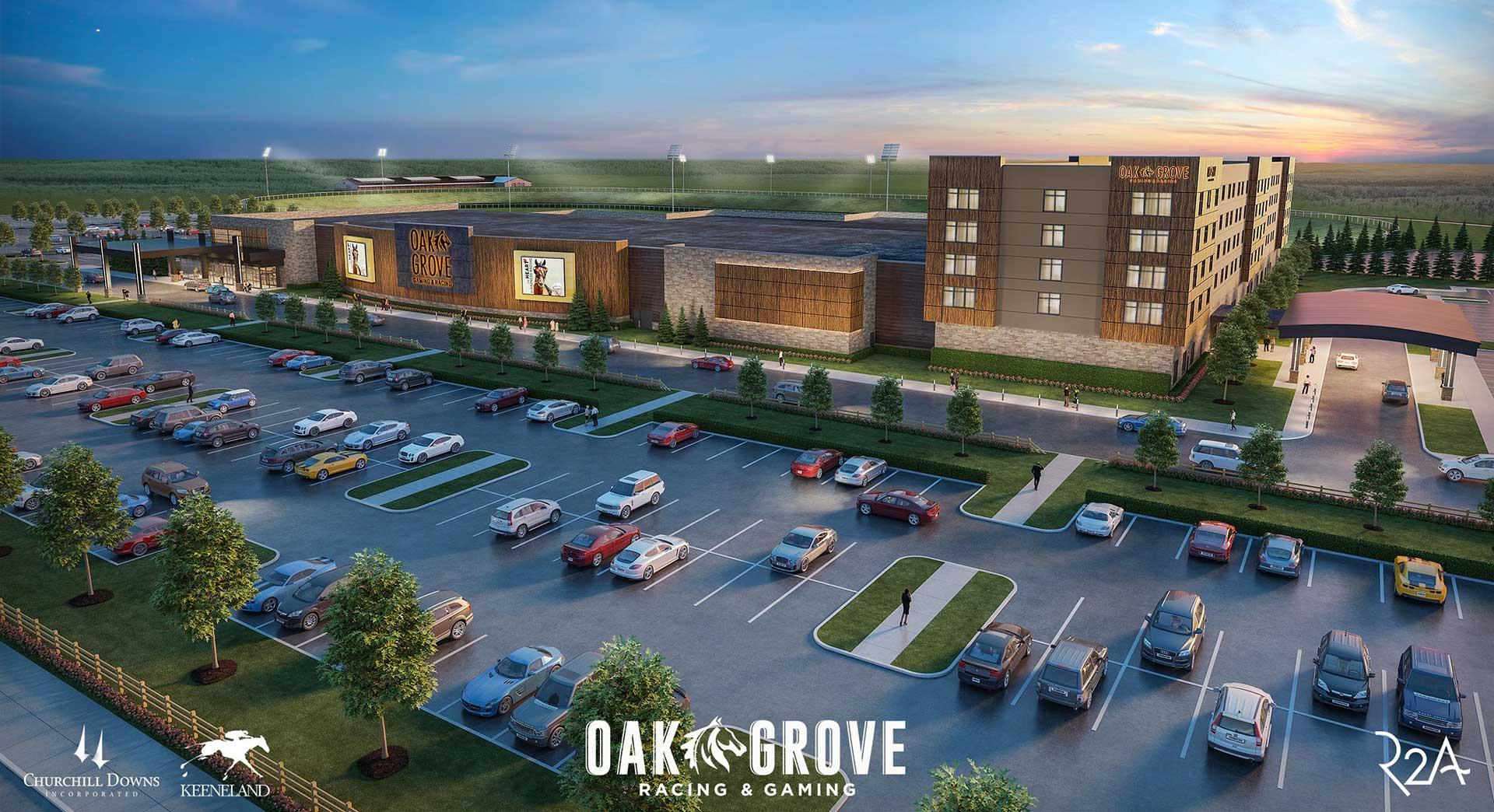 Oak Grove Exterior Rendering